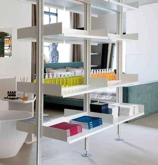 Libreria modello Rams - De Padova - Custhome